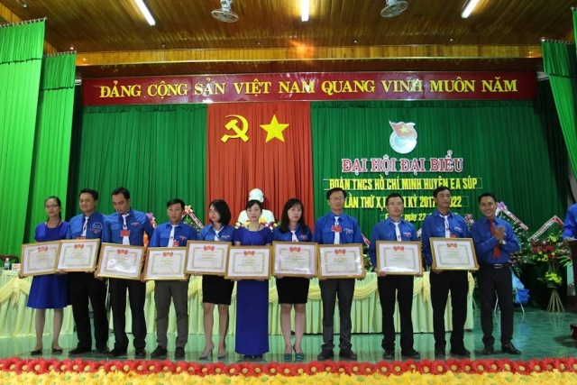 Đại hội Đại biểu Đoàn TNCS Hồ Chí Minh huyện Ea Súp lần thứ X, nhiệm kỳ 2017 – 2022
