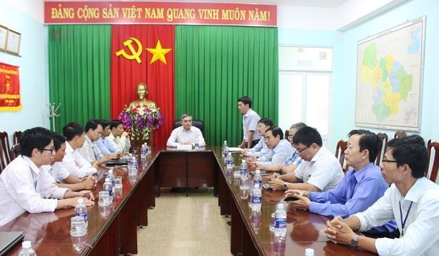 Thứ trưởng Bộ Thông tin và Truyền thông thăm và làm việc với Sở Thông tin và Truyền thông Đắk Lắk