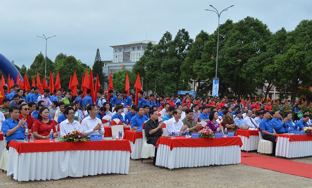 Trung ương Đoàn TNCS Hồ Chí Minh tổ chức Lễ ra quân Chiến dịch Thanh niên tình nguyện hè tại Đắk Lắk