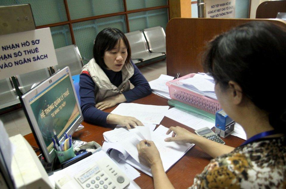 Ủy nhiệm thu thuế đối với xã, phường, thị trấn trên địa bàn tỉnh