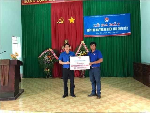 Hợp tác xã thanh niên Cư Pơng huyện Krông Búk hướng đi mới của tổ chức Đoàn tham gia xây dựng Nông thôn mới