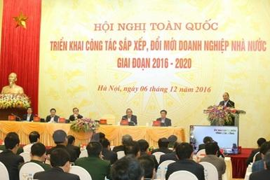 Phê duyệt đề án cơ cấu lại doanh nghiệp Nhà nước giai đoạn 2016-2020