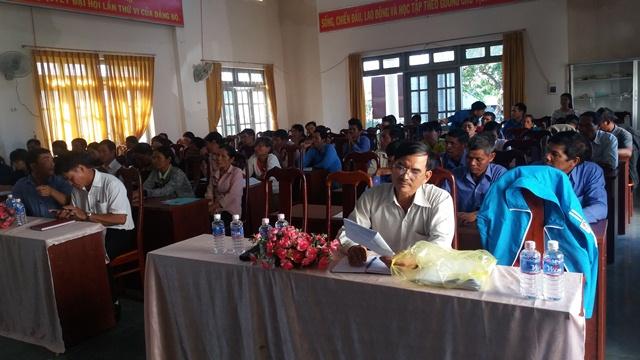 Huyện Lắk tổ chức Hội nghị tập huấn cán bộ Đoàn cơ sở làm công tác giảm nghèo năm 2017