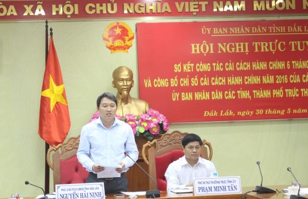 Đắk Lắk đạt kết quả xếp hạng Chỉ số cải cách hành chính cao nhất từ trước đến nay