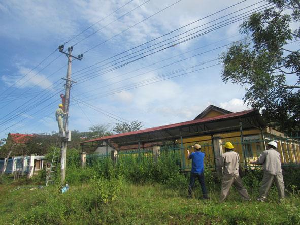 Xử lý đề nghị cho chủ trương thuê đất của Công ty Điện lực Đắk Lắk