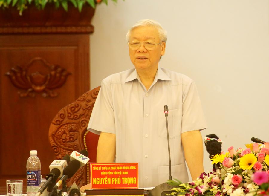 Triển khai kết luận của Tổng Bí thư Nguyễn Phú Trọng tại cuộc làm việc của lãnh đạo chủ chốt tháng 5/2017