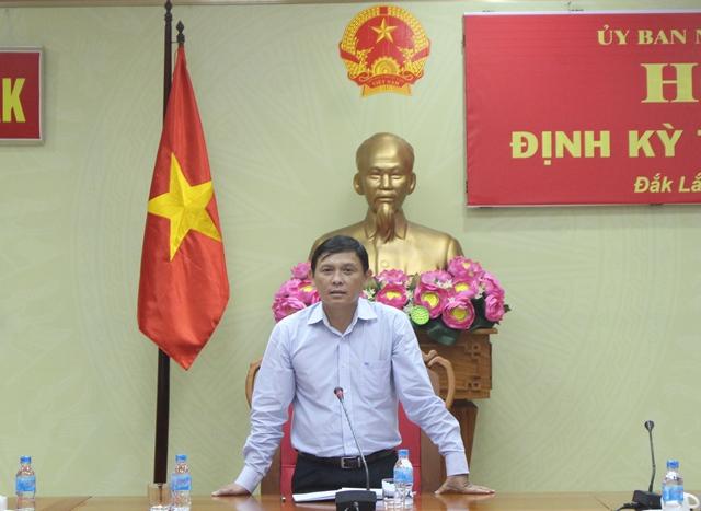 Giao ban báo chí và họp báo định kỳ tháng 5/2017