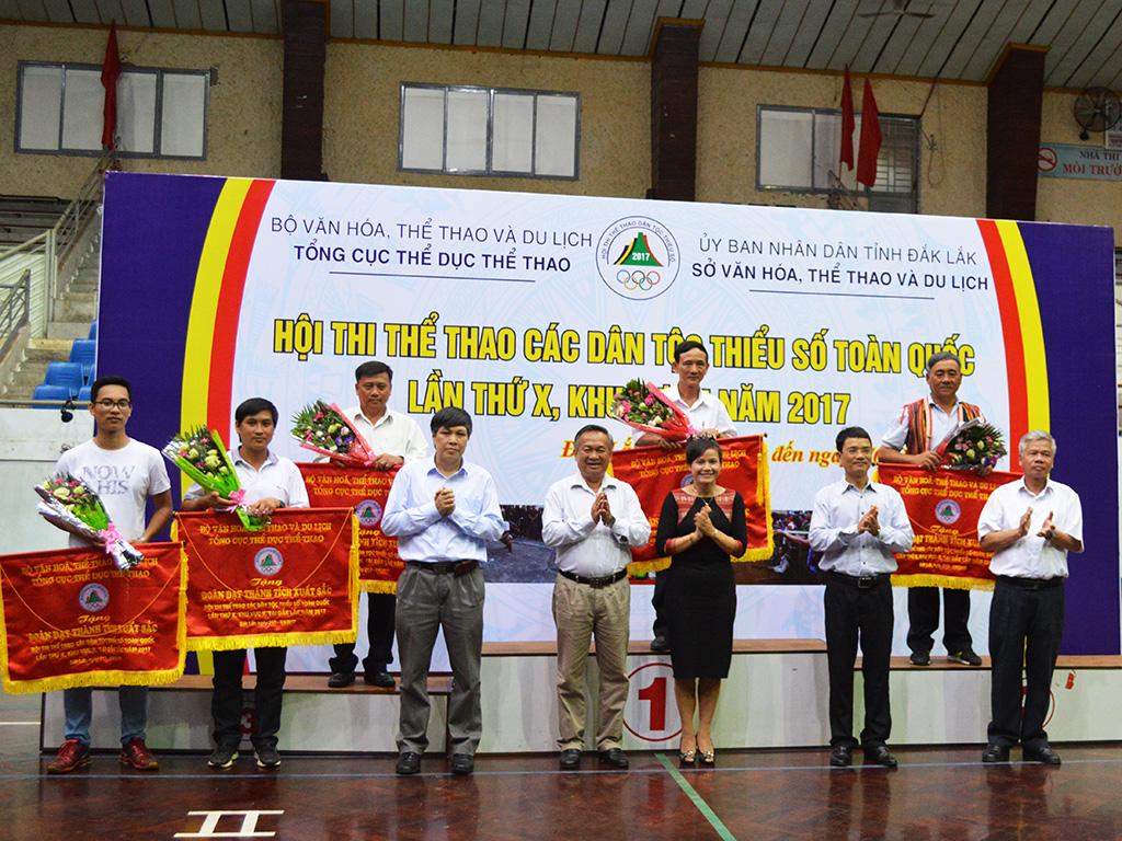 Đắk Lắk  nhất toàn đoàn Hội thi thể thao các dân tộc thiểu số toàn quốc lần thứ X, khu vực II