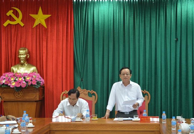 Thường trực HĐND tỉnh triển khai nhiệm vụ tháng 6/2017.