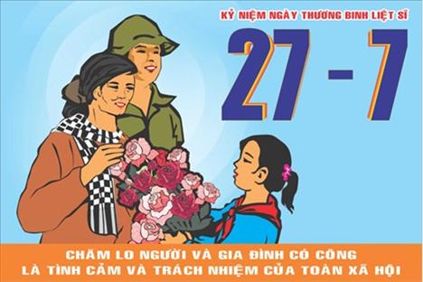 Triển khai các hoạt động kỷ niệm 70 năm ngày Thương binh, Liệt sĩ