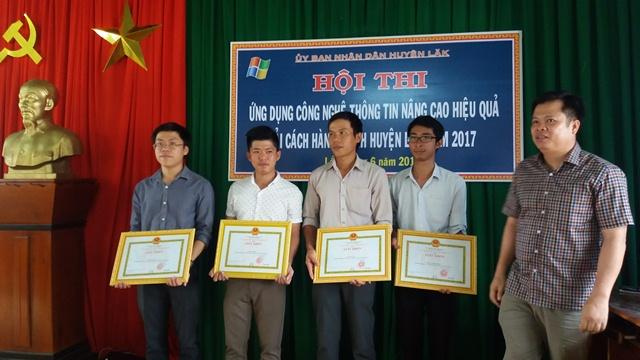 Huyện Lắk tổ chức Hội thi Ứng dụng công nghệ thông tin nâng cao hiệu quả cải cách hành chính năm 2017