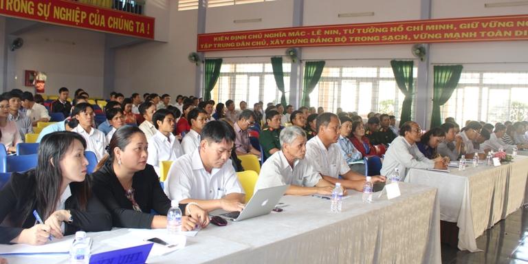 Kế hoạch tiếp xúc cử tri trước Kỳ họp thứ 4, HĐND tỉnh khóa IX