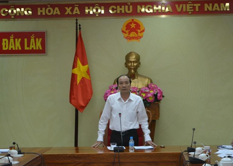 UBND tỉnh họp thông qua các nội dung trình Kỳ họp thứ Tư, HĐND tỉnh khóa IX.