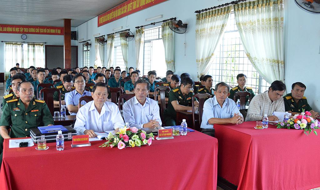 Trường Quân sự địa phương khai giảng lớp đào tạo Trung cấp chuyên nghiệp ngành Quân sự cơ sở, khóa 8