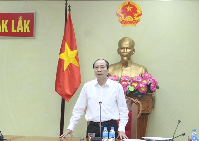 UBND tỉnh họp thông qua nội dung trình Kỳ họp thứ 4, HĐND tỉnh khóa IX