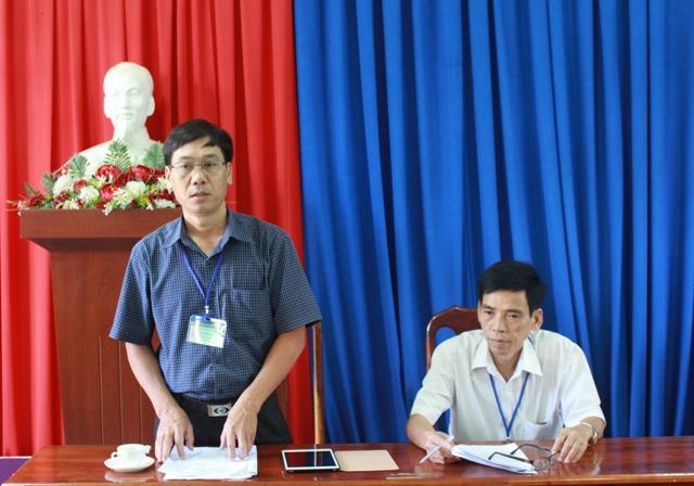 Kiểm tra công tác chuẩn bị kỳ thi THPT quốc gia năm 2017 tại huyện Krông Bông, Lắk.
