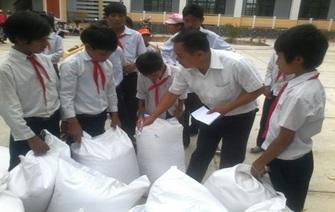 Thực hiện hỗ trợ gạo dự trữ Quốc gia cho học sinh
