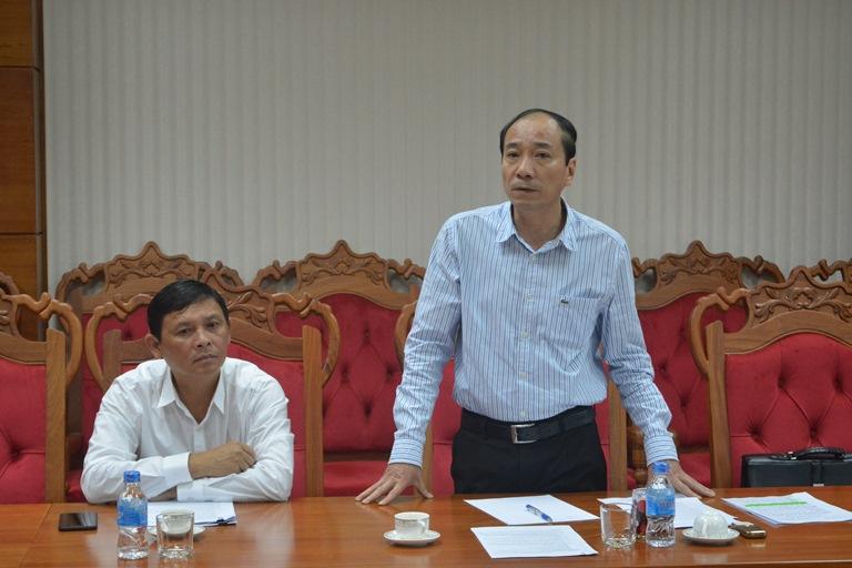 Họp xem xét phương án giải phóng mặt bằng, tái định cư khu dân cư thuộc quy hoạch Trung tâm Văn hóa tỉnh