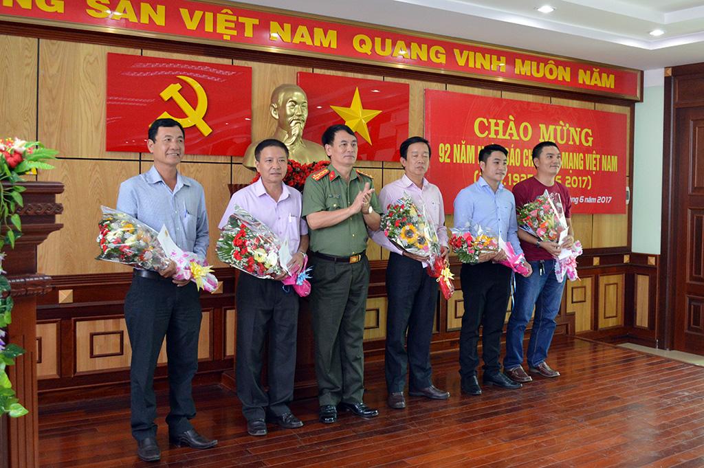 Công an tỉnh Đắk Lắk gặp mặt các cơ quan báo chí trên địa bàn nhân kỷ niệm 92 năm Ngày Báo chí cách mạng Việt Nam