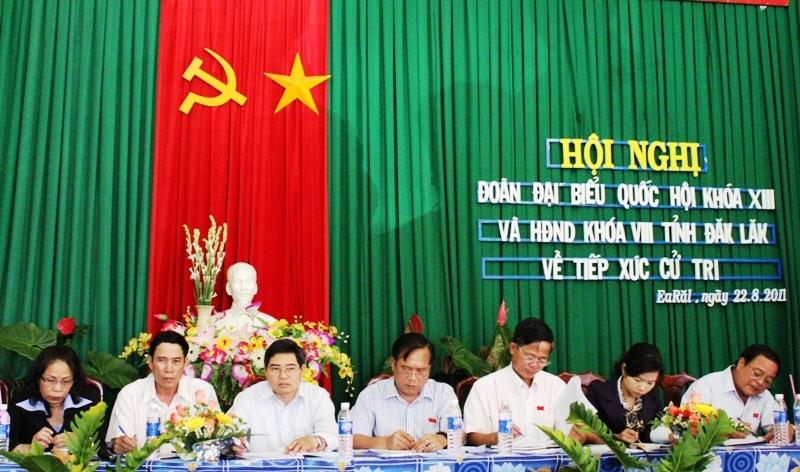 Kế hoạch tổ chức tiếp xúc cử tri sau kỳ họp thứ Ba, Quốc hội khóa XIV