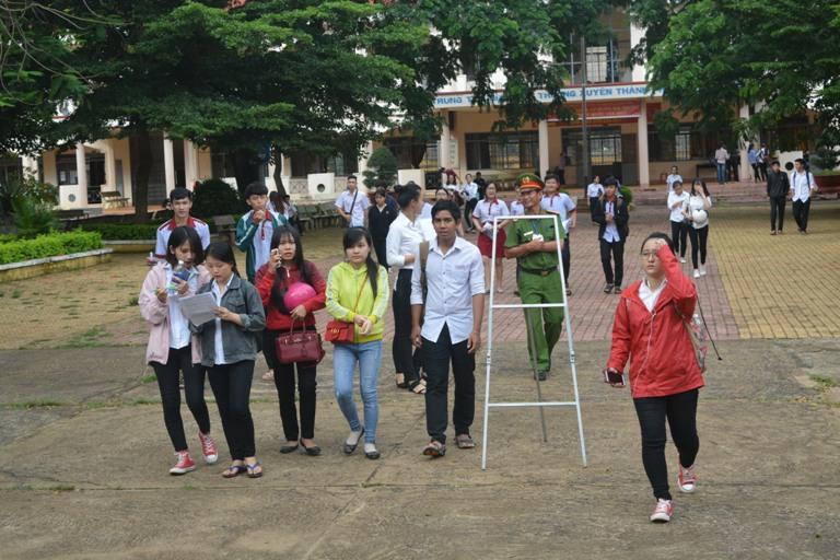 Đắk Lắk: 98,96% thí sinh dự thi môn Toán.