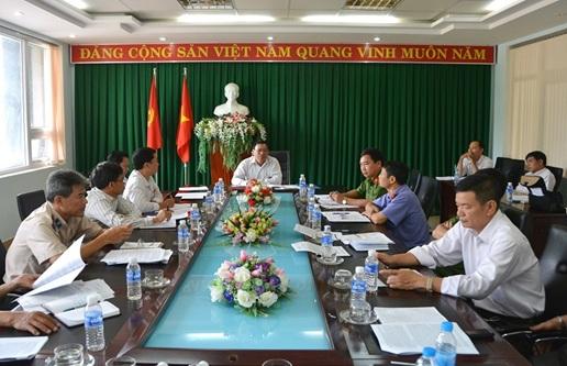 Thường trực Thành ủy Buôn Ma Thuột, giao ban khối Nội chính 6 tháng đầu năm  và triển khai nhiệm vụ trọng tâm 6 tháng cuối năm 2017