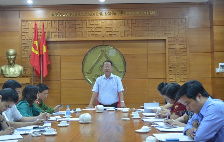Ban Pháp chế HĐND tỉnh thẩm tra các báo cáo trình Kỳ họp thứ Tư, HĐND tỉnh khóa IX.