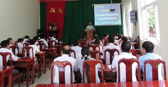 Sở Tư pháp Đắk Lắk tổ chức Hội nghị tập huấn Luật đấu giá tài sản và các văn bản hướng dẫn thi hành