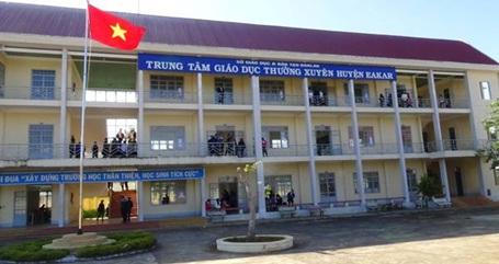 Thành lập Trung tâm Giáo dục nghề nghiệp – Giáo dục thường xuyên huyện Ea Kar