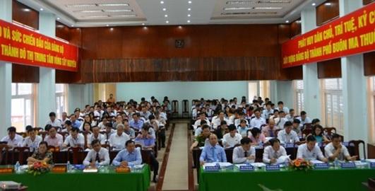 Khai mạc Kỳ họp thứ 4, Hội đồng nhân dân thành phố Buôn Ma Thuột khóa XI (nhiệm kỳ 2016-2021)