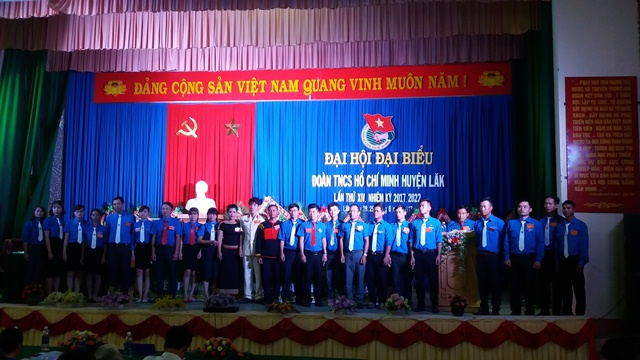 Đại hội Đại biểu Đoàn TNCS Hồ Chí Minh huyện Lắk lần thứ XIV, nhiệm kỳ 2017 - 2022