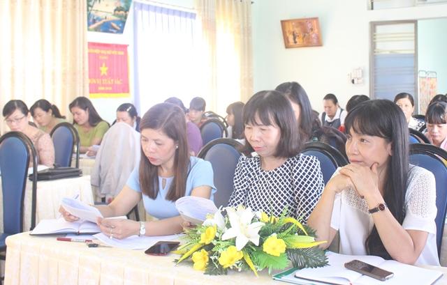 Sơ kết công tác Hội và phong trào phụ nữ 6 tháng đầu năm