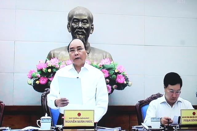 Chính phủ họp phiên thường kỳ tháng 6 năm 2017