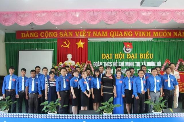 Đại hội Đại biểu Đoàn TNCS Hồ Chí Minh thị xã Buôn Hồ lần thứ III, nhiệm kỳ 2017 – 2022