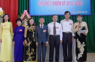 Phê duyệt Điều lệ Hội Cựu Giáo chức huyện Krông Bông khóa I, nhiệm kỳ 2015 – 2020.