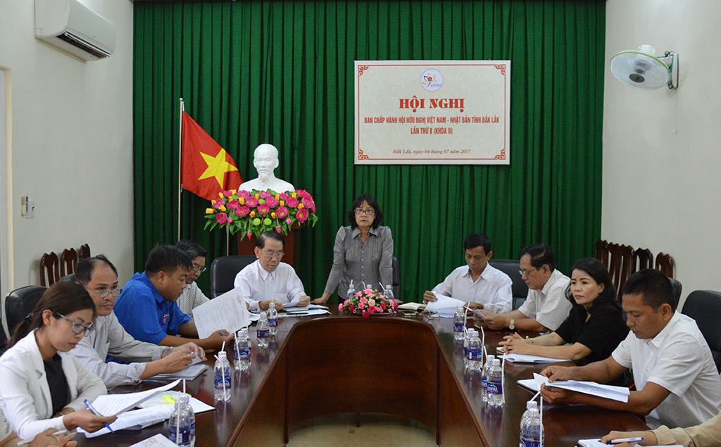 Hội hữu nghị Việt Nam – Nhật Bản tổ chức Hội nghị Ban chấp hành lần thứ 8