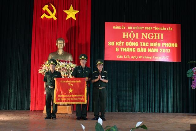 BĐBP Đắk Lắk tổ chức Hội nghị sơ kết công tác biên phòng 6 tháng đầu năm 2017