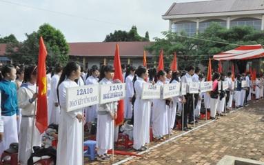 Đổi tên Trường Phổ thông dân tộc nội trú huyện Krông Ana thành Trường Phổ thông dân tộc nội trú Trung học cơ sở huyện Krông Ana