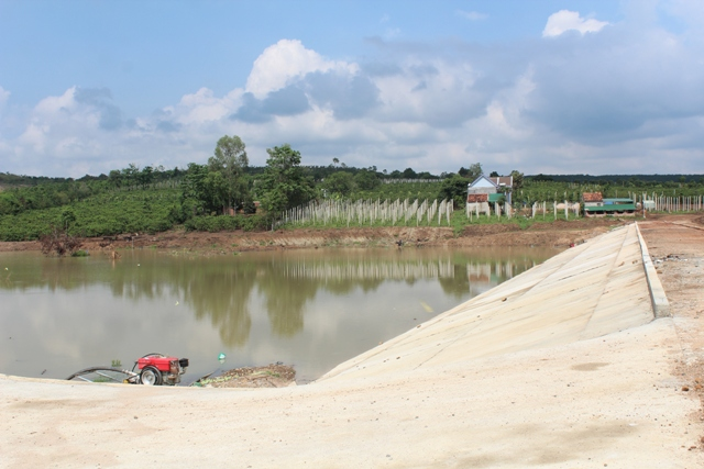 Giao công trình thủy lợi Ea Hum, xã Ea Hiao, huyện Ea H'leo cho Công ty TNHH MTV QLCT thủy lợi Đắk Lắk