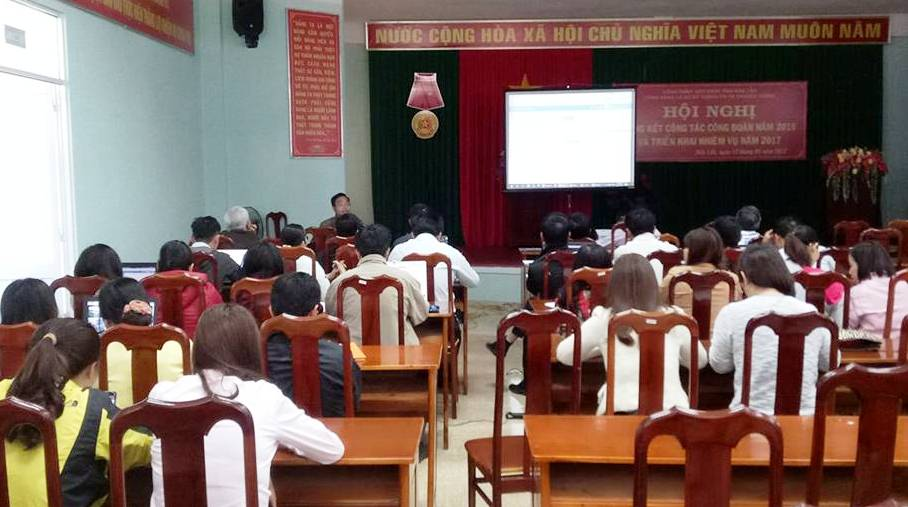 Triển khai ứng dựng quản lý cán bộ, công chức tỉnh Đắk Lắk.