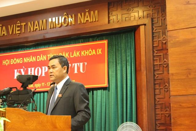 Khai mạc Kỳ họp thứ 4, HĐND tỉnh khóa IX, nhiệm kỳ 2016-2021