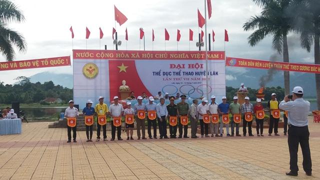 Huyện Lắk khai mạc Đại hội TDTT lần thứ VII năm 2017
