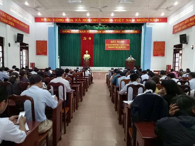 Huyện ủy CưM'gar tổ chức quán triệt Nghị quyết Hội nghị lần thứ 5 Ban Chấp hành Trung ương Đảng khóa XII