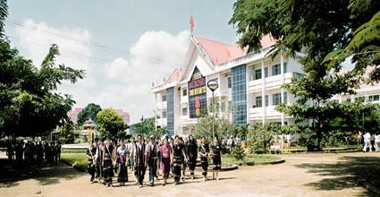 Liên kết đào tạo của Trường Cao đẳng nghề Thanh niên Dân tộc Tây Nguyên với Trường Đại học Sư phạm Kỹ thuật Vĩnh Long