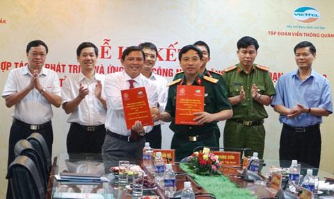 Triển khai các nội dung Thỏa thuận hợp tác giữa UBND tỉnh và Tập đoàn Viễn thông quân đội
