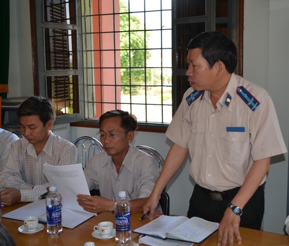 Thực hiện kiến nghị của Ban Pháp chế HĐND tỉnh về công tác thi hành án hành chính