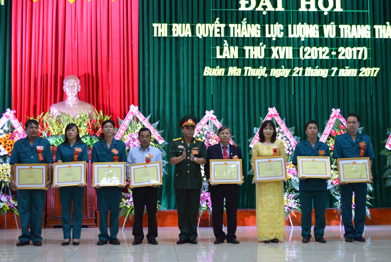 Đại hội thi đua Quyết thắng Lực lượng vũ trang thành phố Buôn Ma Thuột  lần thứ XVII
