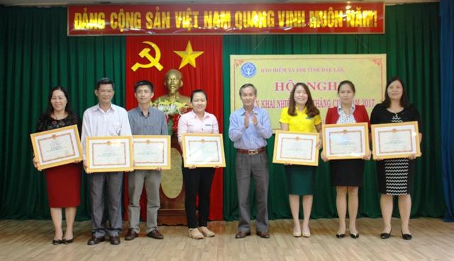 Bảo hiểm xã hội tỉnh triển khai nhiệm vụ 6 tháng cuối năm 2017