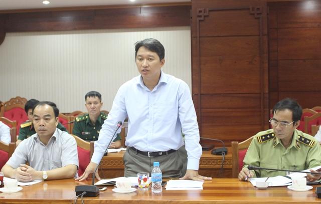 Đoàn công tác Văn phòng Thường trực Ban Chỉ đạo 389 Quốc gia làm việc tại Đắk Lắk