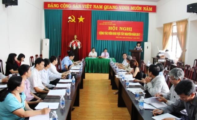 Báo Dân tộc và Phát triển tổ chức Hội  nghị cộng tác viên khu vực Tây Nguyên